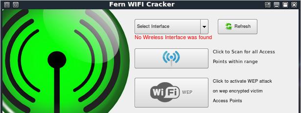 Kali linux: Взламываем WI-FI (WEP) с помощью Fern WIFI